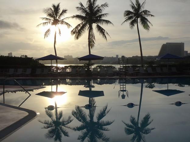 グアム島の朝