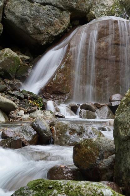 三日月の滝