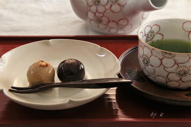 写真: お茶の時間