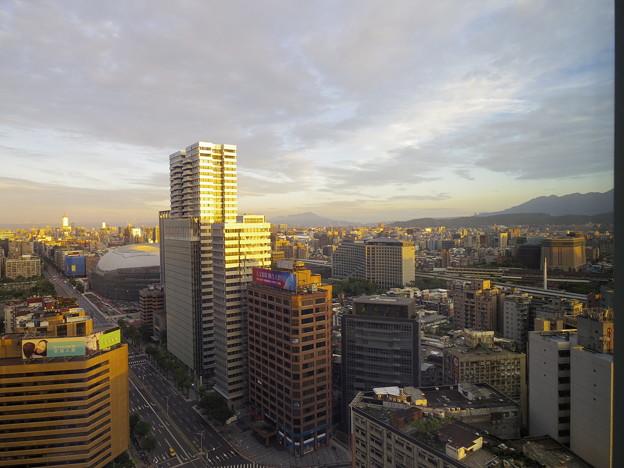 2018/08/29 市政府「W Taipei」ホテルの部屋から