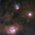 写真: M8M20と火星