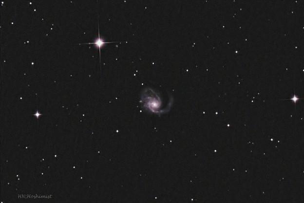 M99 かみのけ座の渦巻銀河