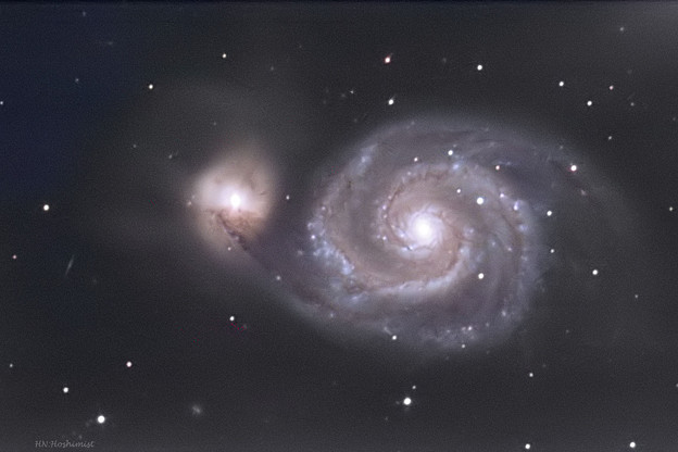 M51 20161231 15秒露出