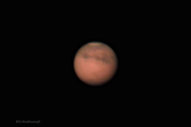 写真: 20180810未明の火星