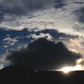 写真: 夏の終わりの彩雲