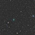 38P ステファン・オテルマ彗星 と 散開星団NGC2420