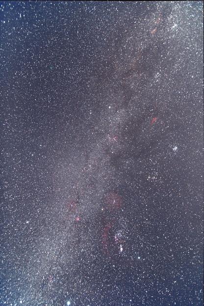 冬のダイヤモンドとウィルタネン彗星