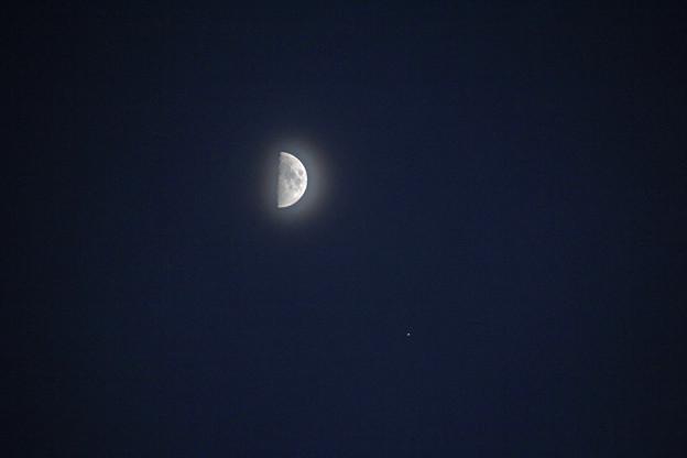20190906月と木星の接近