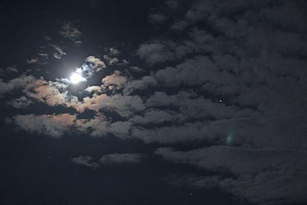 月と土星の接近翌日