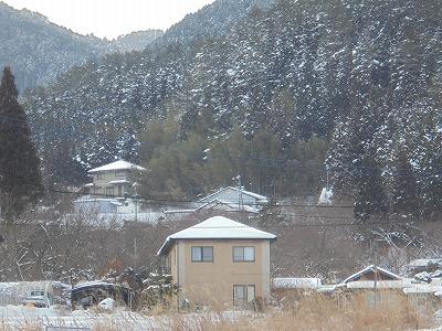 2月9日「雪の自宅」
