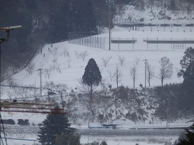 2月15日「雪景色」