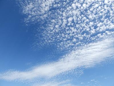 9月10日「羊雲」