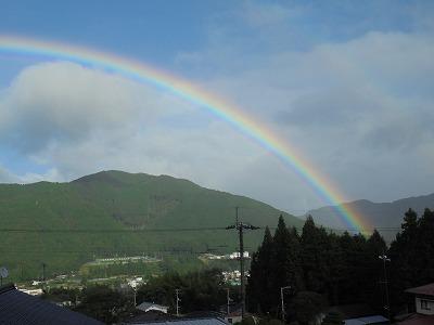 9月10日「虹」