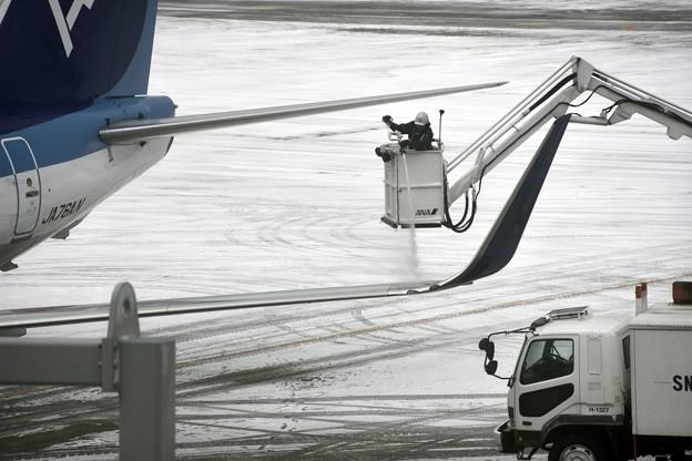 翼面凍結防止処理