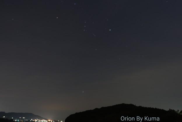 夜のお写ん歩 オリオン座