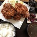 Photos: 唐揚げ定食