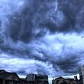 写真: 北風と怪物