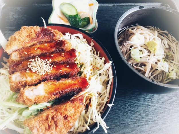 ソースカツ丼ランチ