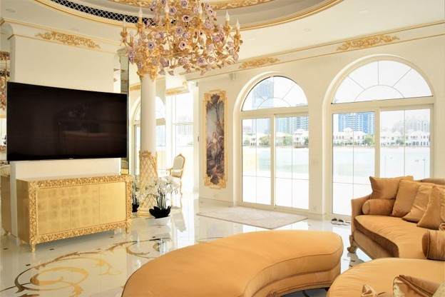 Joinery Works of Villa in Palm Jumeirah
