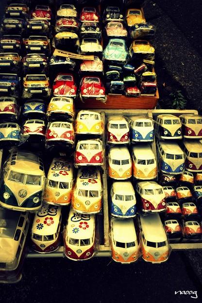 VWの群れ