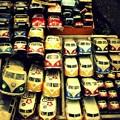 写真: VWの群れ