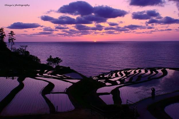 写真: 能登の夕景♪