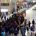 写真: 韓国では、海外旅行先の中で日本が圧倒的人気を見せている。(提供:news1)