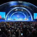 Photos: <平昌五輪>メダル授与式、なぜ別会場で?