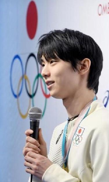 Photos: <平昌五輪>羽生選手 逆境で学び力に「もし順風満帆だったら金メダルは取れていない」