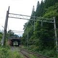写真: 山形板谷駅スイッチバック。(12系 山形仙台旅)
