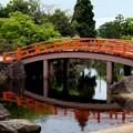 Photos: 紫式部公園赤い橋