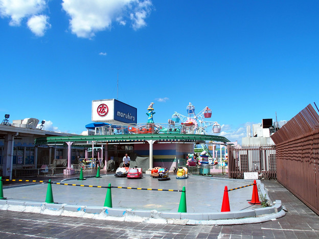 川越・まるひろ百貨店の屋上遊園地 1