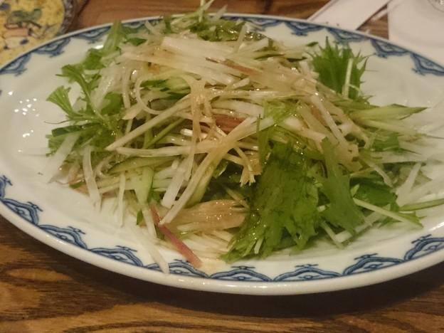 写真: さっぱりサラダ