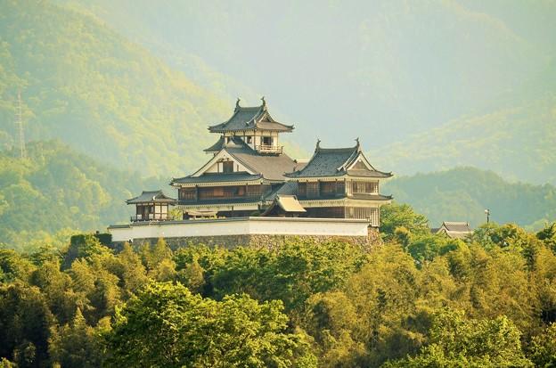 福知山城遠景