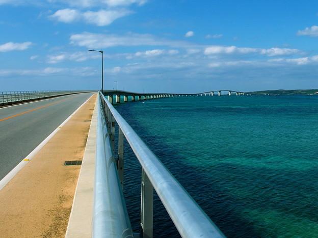写真: 伊良部大橋なのです^^