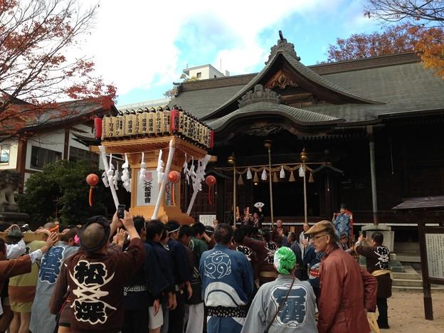 四柱神社とお神輿