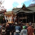 Photos: 四柱神社とお神輿