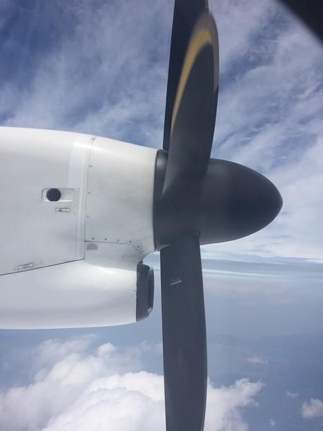 Photos: プロペラ機に乗ってみた