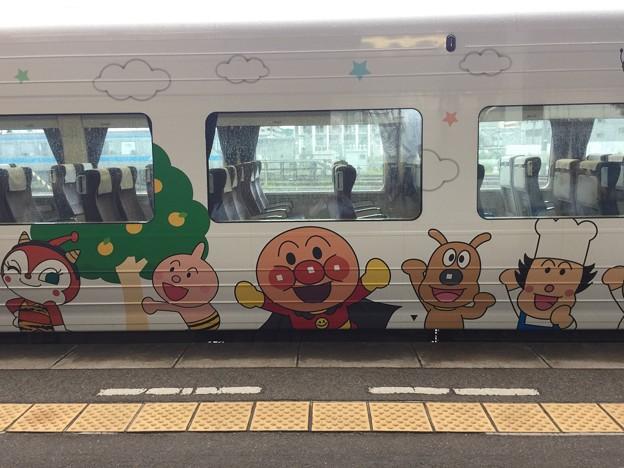 アンパンマン列車に乗ってみた!!