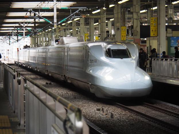 広島駅 N700系