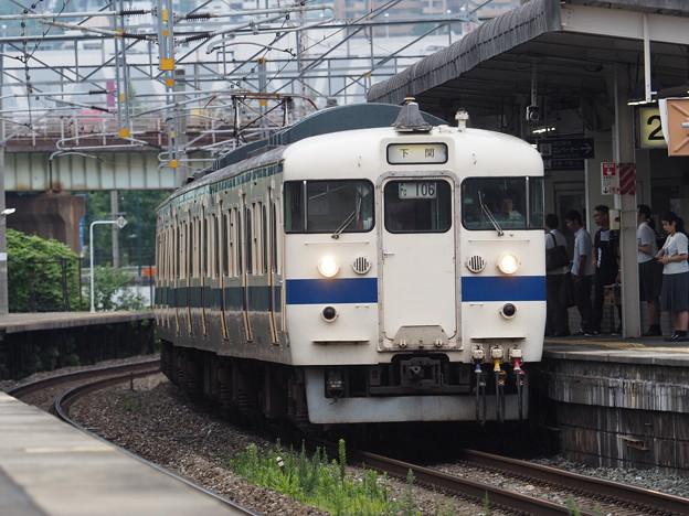 415系 枝光駅