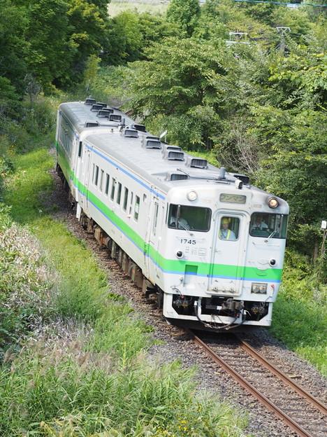 普通列車 野花南駅~富良野駅