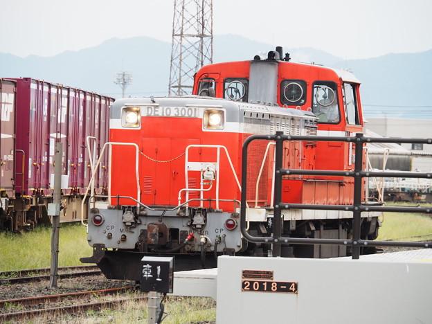 秋田臨海鉄道 DE10