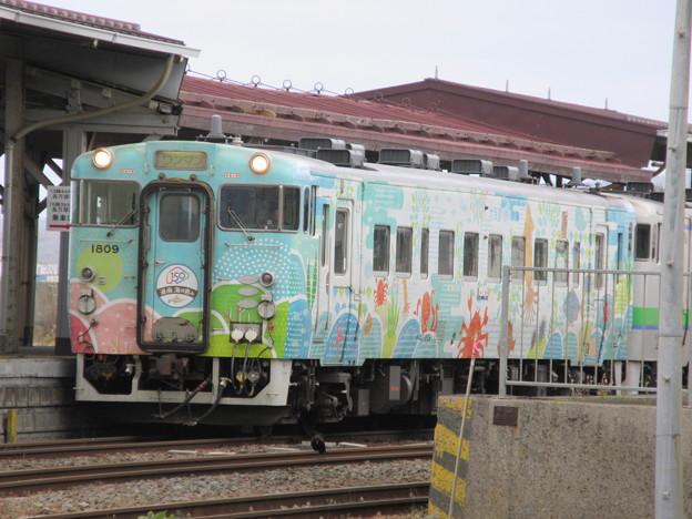 Photos: キハ40 1809「道南 海の恵み」1