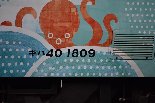 Photos: キハ40 1809「道南 海の恵み」23