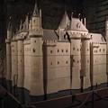 Photos: 模型 初期のルーブル宮