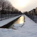 Photos: 雪とせせらぎ