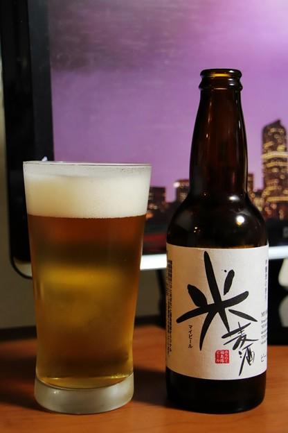 福島路ビール 米麦酒