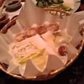 写真: 大学OB会でふぐちり!わぁっ!てみんな食べてすでに河豚ナシ。(笑)