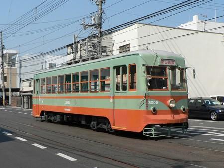 岡山電気軌道3000形3005号